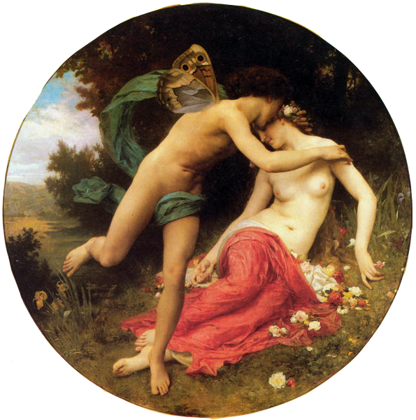 Greek God of the West Wind - Flora And Zephyr
